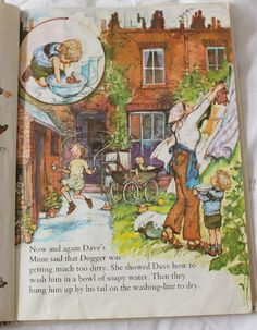 Shirley Hughes - Dogger. Her most engaging story. And I ALWAYS cry when Bella gives away her teddy...I'm doing it now!