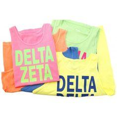 Delta Delta Delta Neon Tank Top  http://www.brownbagetc.com/delta-delta-delta-neon-tank-top.html#