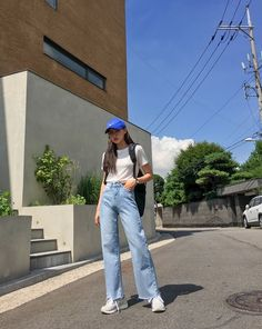 fashion outfits teenage korean for your perfect look this summer. teenage korean Fashion Outfits Teenage korean For Your Perfect Look This Summer Korean Fashion Trends, Korean Street Fashion, Korea Fashion, Asian Fashion, Korean Fashion Tomboy, Mode Outfits, Korean Outfits, Fashion Outfits, Dress Fashion