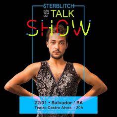 Veveta @ivetesangalo: Dia 22 aqui em Salvador tem esse incrível ator humorista ! @sterblitch . Ele ar