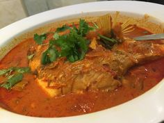 My favourite fish head curry :)