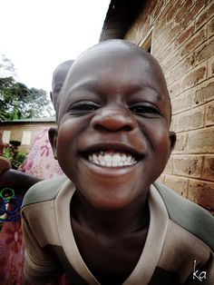 picture of a beautiful boy in uganda. #watoto