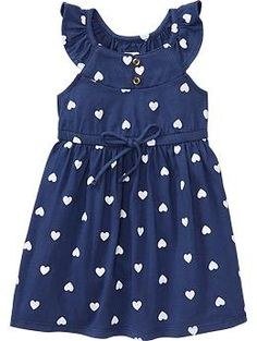 Flutter-Sleeve Jersey Dresses old navy.  With coral leggings....