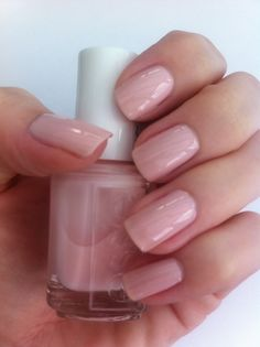 essie muchi muchi. The perfect pale pink color