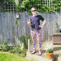 SOIshowoff June: Sew Over It Ultimate Trousers. Looking so summery!