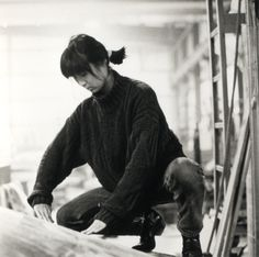 Visionary artist Maya Lin. At age 21 as an architect student at Yale University her design  was awarded for the Vietnam War Memorial. She has continued to lead the 21st century in design. Maya has withstood tremendous forces.