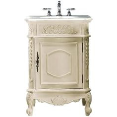 Winslow Small Bathroom Sink Cabinet (31.540 RUB) ❤ liked on Polyvore featuring home, home improvement, plumbing, furniture, bathroom and deco