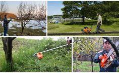 Cinci unelte pentru intretinerea unui teren mic, ocupat de gradina ori livada