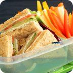 Dilly Cucumber Sandwiches ~ Vegetarian www.HealthyRecipesQuick.com