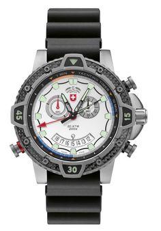 "Jewelcology - Typhoon Scuba - Silver (""24801-TyphoonScuba"") CX SWISS MILITARY WATCH, $1,060.00 (http://jewelcology.com/typhoon-scuba-silver-24801-typhoonscuba-cx-swiss-military-watch/)"