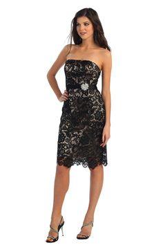 Short Lace Cocktail Plus Size Knee Length Formal Dress Groom Plus Size Short Dresses, Plus Size Shorts, Nice Legs, Groom Dress, Lace Overlay, Lace Shorts, Strapless Dress, Cocktail, Fancy