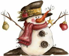 Rustic Winter Clipart Images Gallery