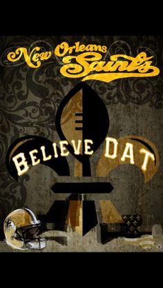 Saints,  got love em'!