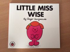 Little Miss Wise Little Miss Books, Cover, Blanket