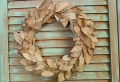 Upcycled book wreath - you could always use scrapbook paper or photo copies of pages...no books need be harmed