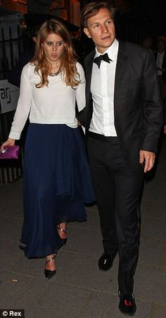 Princess Beatrice and boyfriend Dave Clark attended a private party at the nightclub Annabel's, London, May 15, 2014