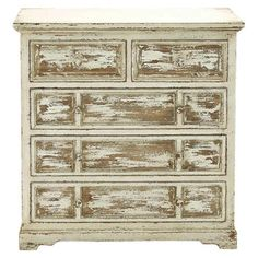 Showcasing 2 drawers, 2 louvered doors, and a 2-tone finish, this charming cabinet is perfect for holding board games in the den or extra table linens in the...