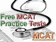 Free MCAT Practice Tests - along with TOEFL, GMAT, GRE, LSAT and more...