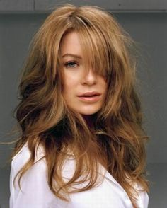 Image uploaded by Caú Flud. Find images and videos about grey's anatomy, meredith grey and ellen pompeo on We Heart It - the app to get lost in what you love. Grey's Anatomy, Meredith Grey Hair, Elegant Hairstyles, Cool Hairstyles, Great Hair, Awesome Hair, Fine Hair, Hair Dos, Gorgeous Women