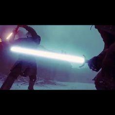 """Kit Harrington fighting white walker with light saber So badass!!!! Game of thrones meme """" Totally, friend! :D"""