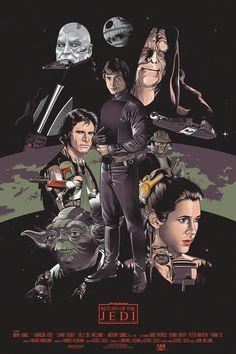 Star Wars Original Trilogy by Vincent Rhafael...   XombieDIRGE