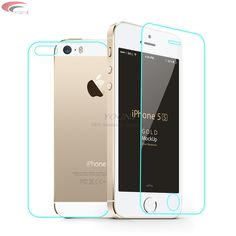 >> Click to Buy << 2pcs/lot front+back Tempered Glass For iPhone7 7s plus 4 4S  Screen Protector Film Full Body Glass On the For iPhone 5S SE #Affiliate