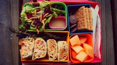 Unique, healthy lunches for the Mr. and Mrs. teachers!