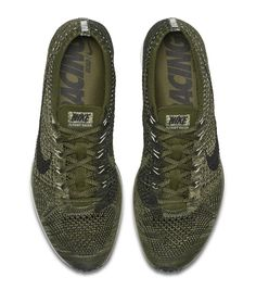 "Preview: Nike Flyknit Racer ""Rough Green"""