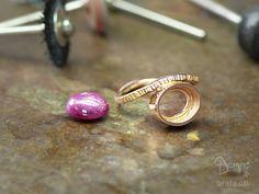 Custom made ring under construction Construction, Stud Earrings, Jewelry, Building, Jewlery, Bijoux, Studs, Schmuck, Stud Earring