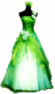 Tinkerbell Wedding Dress