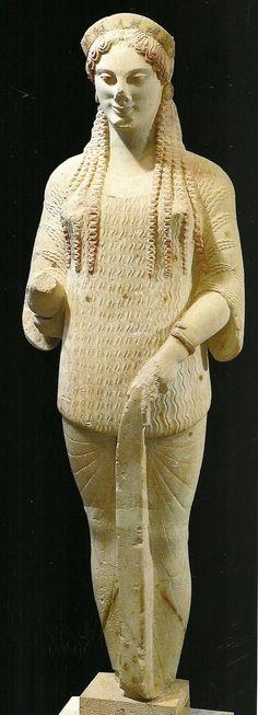 GRECE – Sculpture grecque archaïque 670 environ