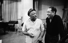 Count Basie & Duke Ellington © Don Hunstein