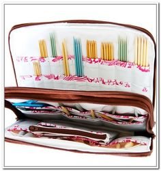 Knitting Needle Storage Case Pattern