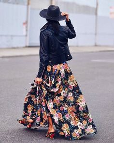 Some Monday morning outfit inspo! Time to add the leather jacket. Fall Collections, Cyber Monday, Leather Jacket, Monday Morning, My Style, Instagram Posts, Skirts, Jackets, Ootd