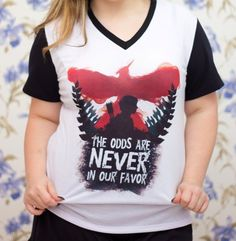 T-shirt PB Hunger Games - Toda Frida