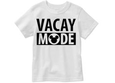 Mickey Mouse Vacay Mode by LittleSuperPowers on Etsy
