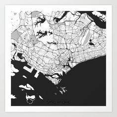 Buy Singapore G by City Map Art as a high quality Art Print. Worldwide shipping available at Society6.com. Just one of millions of products available.