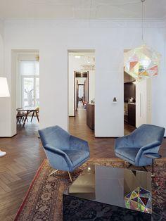 Apartment B in Berlin by Thomas Kröger Architekt | http://www.yellowtrace.com.au/apartment-b-berlin-thomas-kroger/