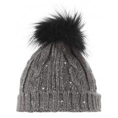 Twinkle Grey Bobble Hat #Stylesnob #EthicalJewellery #EllaGeorgia #EthicalFashion