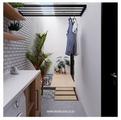 153 laundry design ideas with drying room that you must try 40 Outdoor Laundry Rooms, Small Laundry Rooms, Laundry Room Design, Bathroom Design Small, Backyard Furniture, Furniture Decor, Bathroom Furniture, Furniture Stores, Home Room Design