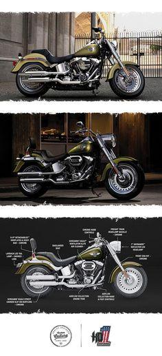 The original fat custom icon. | 2017 Harley-Davidson Fat Boy