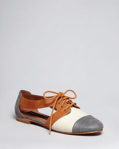 b151d725a84 Steven by Steve Madden Lace Up Oxford Flats  Mensoxfordshoes Socks And  Sandals