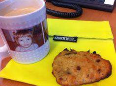 Hmmm - selbstgemachte Cookies (Erdnussbutter, Banane, Schokolade) sind immer die Besten!