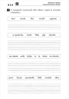Polish Language, Sheet Music, Lettering, Education, School, Study Inspiration, Speech Language Therapy, Cuba, English