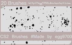 Blood 6 - Download  Photoshop brush http://www.123freebrushes.com/blood-6-3/ , Published in #BloodSplatter, #GrungeSplatter. More Free Grunge & Splatter Brushes, http://www.123freebrushes.com/free-brushes/grunge-splatter/ | #123freebrushes