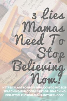 What lies are filling your head and getting you down mama? Start encouraging yourself and building yourself up! Speak truth to yourself mama and to your mama friends! Speak The Truth, Losing Me, You Got This, Encouragement, Community, Posts, Thoughts, How To Plan, Search