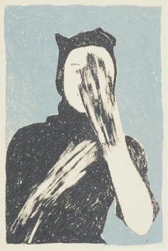 Werk van Winnares Publieksprijs Secret Postcards 2012: Saar de Buysere (Be)
