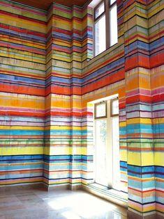Оригинал взят у khulinich в Многообразие полосатых стен. Казалось бы - такая банальная тема - полосатые стены. Ну о чем здесь рассказывать? На самом деле, так много…