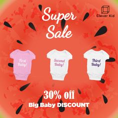 How Many Baby Beauties Do You Have? #girls #babies #babyclothes #babyshower #babygirl #mom #parenthood #twins #triplets #quadruplets #pregnant