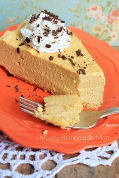 Mostly Homemade Mom - Skinny Low Carb Peanut Butter Cheesecake www.mostlyhomemademom.com